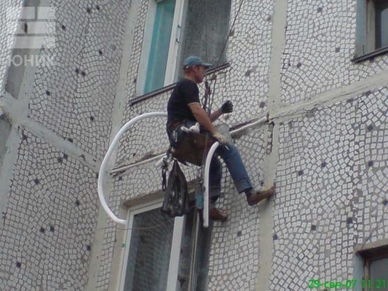 Герметик для заделки швов на пластиковых окнах