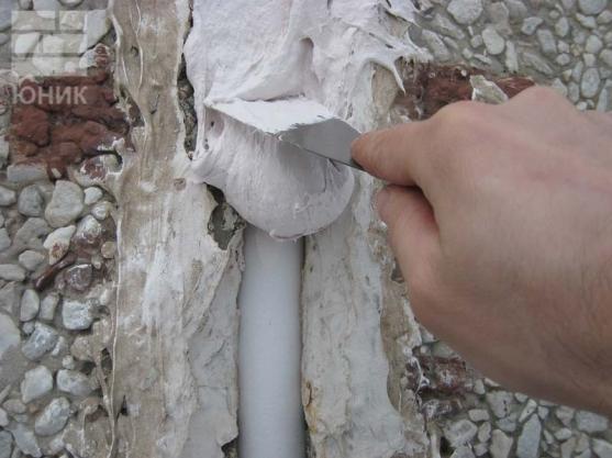 Герметизация сварных швов труб