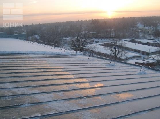 Хабаровск очистка кровли от снега
